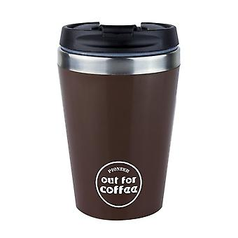 Pioneer Brown 0.3L Out For Coffee Reusable Mug