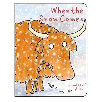 When the Snow Comes [Board� book]