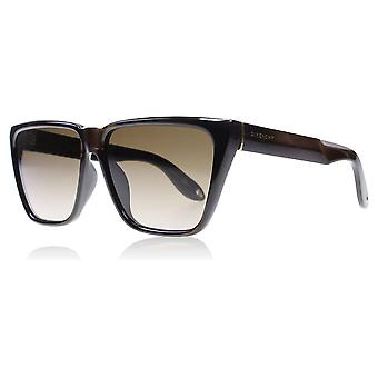 Givenchy 7002/S R99 Metallized Brown 7002/S Square Sunglasses Lens Category 3 Lens Mirrored Size 58mm