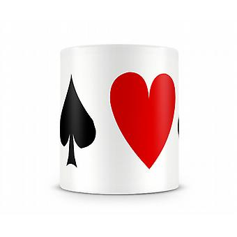 Tasse Playing Card Symboles
