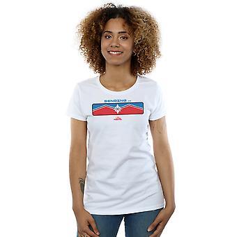 Marvel Women's Captain Marvel Sending T-Shirt