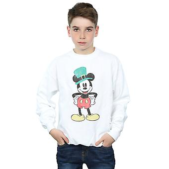 Disney Boys Mickey Mouse Leprechaun Hat Sweatshirt