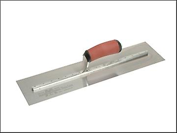 Marshalltown MXS77DSS Cement Trowel Stainless Steel DuraSoft Handle 18in x 4.1/2in