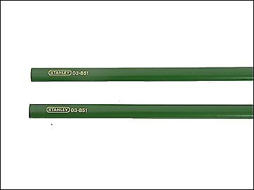 Stanley Tools Masons Pencils for Brick Pack of 2 175mm