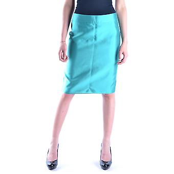 Armani Collezioni luz algodón azul falda
