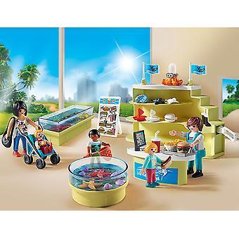 Playmobil familia divertido acuario tienda