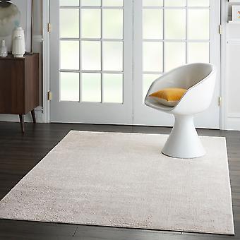 Seidigen Texturen SLY01 Elfenbein graue Rechteck Teppiche moderne Teppiche