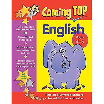 Coming Top: English - Ages 4-5