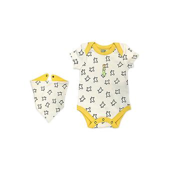 Finn + Emma Little Prince Organic Body Suit & Bib