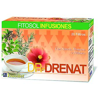 Ynsadiet Dr infusion Drenat 20 Envelopes (Herboristeria , Infusions)