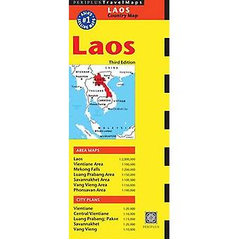 Laos Travel Map (3rd edition) by Periplus Editors - 9780794607319 Book