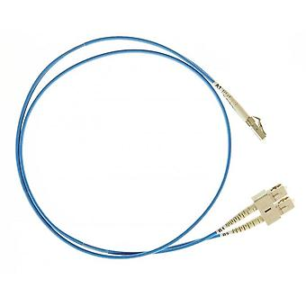 Blue Lc-Sc Om4 Multimode Fibre Optic Cable