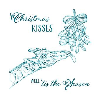 Screen Sensation 12 x 12 Screen - Christmas Kisses
