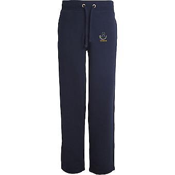 Light Infantry Veteran - Licensed British Army Embroidered Open Hem Sweatpants / Jogging Bottoms