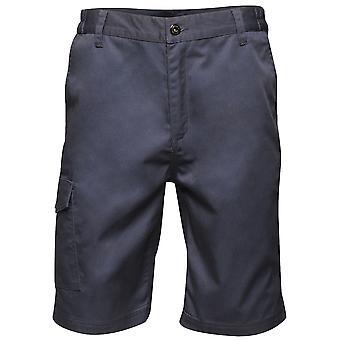 Regatta Mens Pro Water Repellent Workwear Cargo Shorts