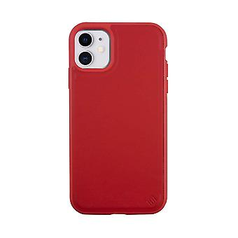 Eco Leather iPhone 11 Case Biodegradable Back Shell - Red Tomato