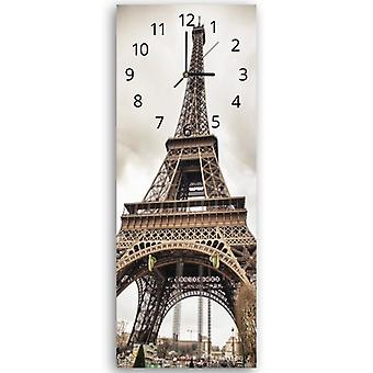 Decorative clock with hanger, Eiffel tower 2