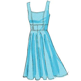 Misses' Dress  E5 14  16  18  20  22 Pattern V8648  E50
