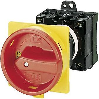 Limit switch lockable 20 A 1 x 90 ° Red, Yellow Eaton T0-2-1/V/SVB 1 pc(s)