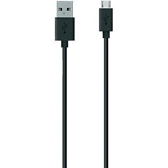 USB 2.0 Cable [1x USB 2.0 connector A - 1x USB 2.0 connector Micro B] 2 m Black Belkin