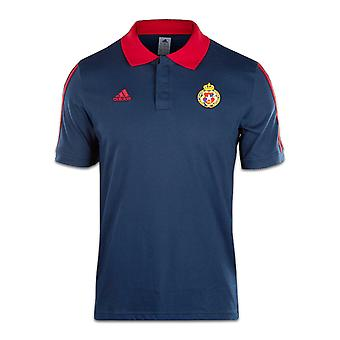 2016-2017 Wisla Krakow Adidas Cotton Polo Shirt (Navy)