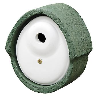 Cj Woodstone Nest Box Oval Green 32mm (fsc)