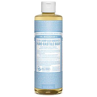 Dr Bronner's Baby Unscented Pure-Castile Soap Liquid