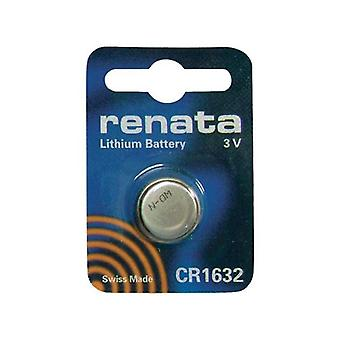 Renata 1632 Swiss Made Lithium Coin Cell Battery - Pack of 10