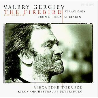Gergiev/Kirov Orch. - Stravinsky: The Firebird; Scriabin: Prometheus [CD] USA import