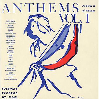 Hymny wszystkich narodów - hymny USA wszystkich narodów 1 & 2 [CD] importu