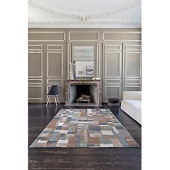 Galleria 063 0244 2626 Brown Multi Farbe Rechteck Teppiche moderne Teppiche
