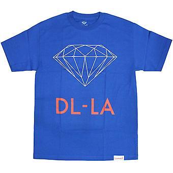 Diamond leverans Co DL-LA T-Shirt Royal