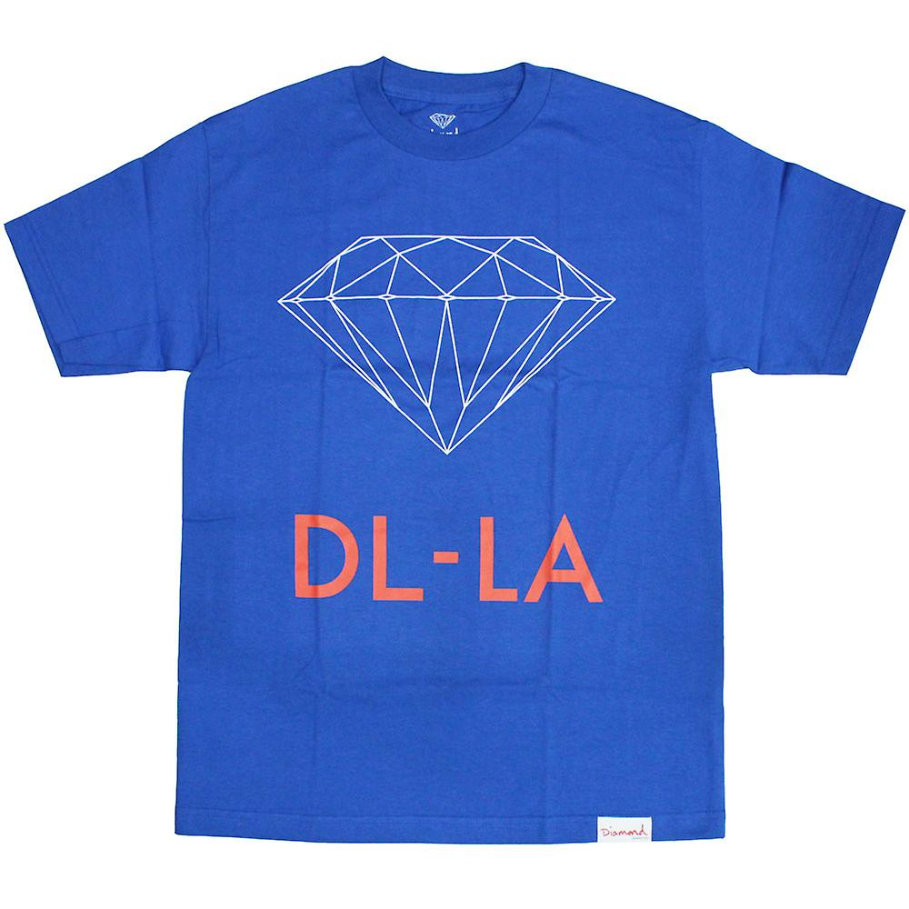Diamond Supply Co DL-LA T-Shirt Royal