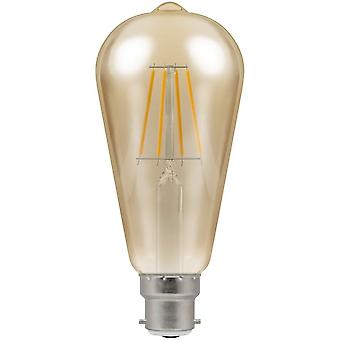 Crompton 7.5W LED Filament Squirrel Cage Light Bulb, E27