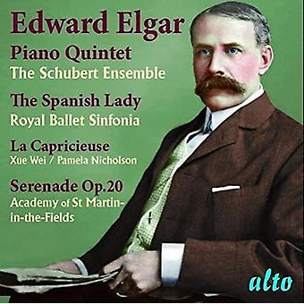 The Schubert Ensemble Royal Ballet Sinf - Elgar: Piano Quintet; Spanish Lady Suite [CD] USA import