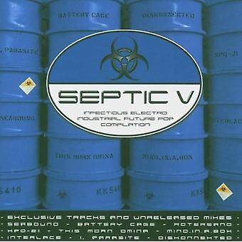 Septisk V - septisk V [CD] USA importerer