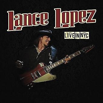 Lance Lopez - en vivo en la importación de los E.e.u.u. de Nueva York [CD]