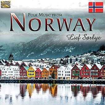 Lief Sorbye - folkemusik fra Norge [CD] USA import