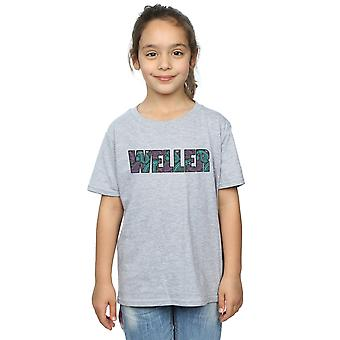 Paul Weller Girls Paisley Logo 1 T-Shirt