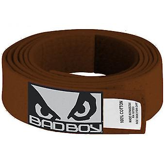 Bad Boy Kid's Jiu-Jitsu Gi Belt - Brown