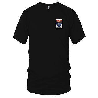US Army - 104th Infantry Regiment NYG Rifles Embroidered Patch - Kids T Shirt