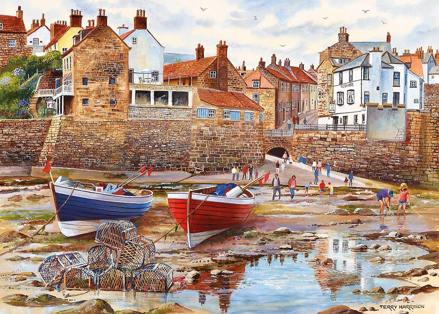 Gibsons Robin Hood's Bay Jigsaw Puzzle (1000 Pieces)
