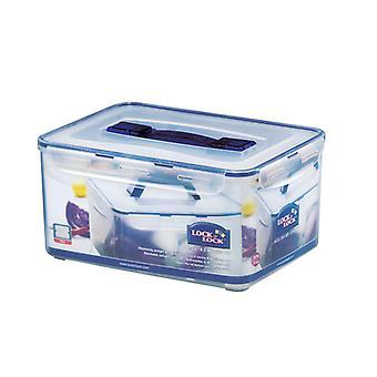 Lås og lås rektangulære opbevaringsbeholder 8L