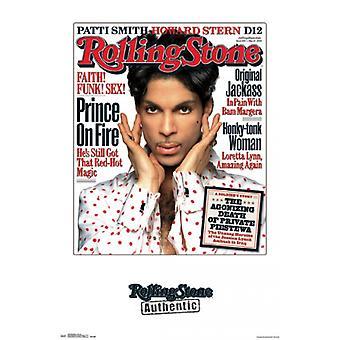 رولينج ستون--طباعة الملصقات ملصق الأمير 04