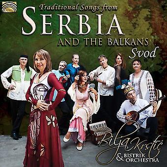 Krstic, Bilja / Bistrik orkester - traditionella låtar från Serbien & Balkan - Svod [CD] USA import