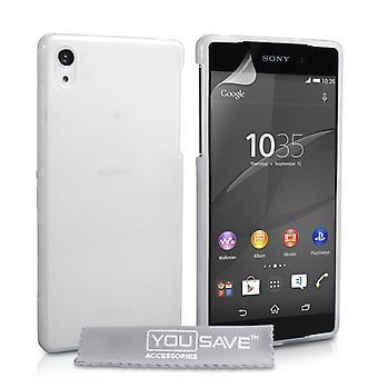 Yousave Аксессуары Sony Xperia Z4 компактный силиконовый гель случай - Clear