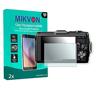 Olympus TG-2 Screen Protector - Mikvon Clear (Retail Package con accessori)