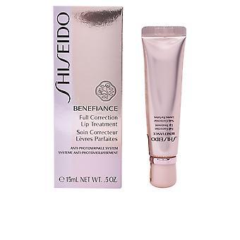Shiseido Benefiance pełna korekcja warg leczenie 15 Ml dla kobiet