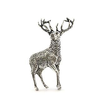 Stag tinnen Lapel pins Badge permanent