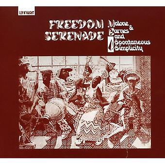 Malone & Barnes & spontan enkelhed - frihed Serenade [CD] USA importerer
